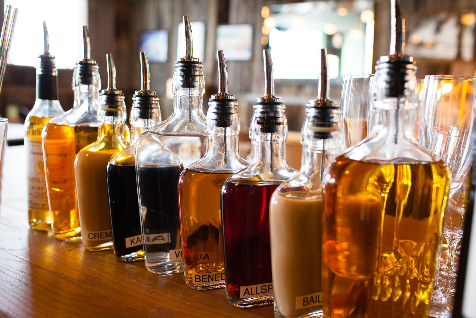 Flavor bottels